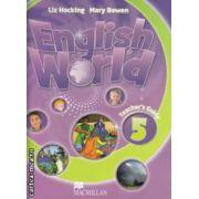 English World 5 : Teachers Guide ( editura : Macmillan , autori : Liz Hocking , Mary Bowen ISBN 978-0-230-02475-5 )