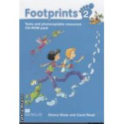 Footprints 2: Tests and Photocopiable Resources: CD - ROM pack ( editura: Macmillan, autori: Donna Shaw, Carol Read ISBN 978-0-2307-1639-1 )