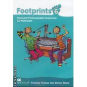 Footprints 6: Tests and Photocopiable Resources: CD - ROM pack ( editura: Macmillan, autori: Donna Shaw, Frances Treloar ISBN 978-0-2307-2232-2 )