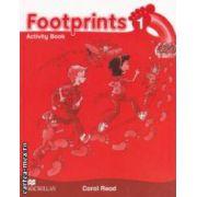 Footprints 1: Activity Book ( editura: Macmillan, autor: Carol Read ISBN 978-0-2300-1190-8 )
