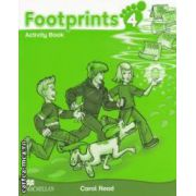 Footprints 4: Activity Book ( editura: Macmillan, autor: Carol Read ISBN 978-0-230-73374-9 )