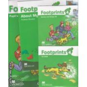 Footprints 4 Pupil' s Book Pack with: Stories and Song CD, CD - Rom, Portofolio Booklet ( editura: Macmillan, autor: Carol Read ISBN 978-0-2300-1229-5 )