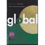 Global Intermediate: Class Audio CD ( editura: Macmillan, autori: Lindsay Clandfield & Rebecca Robb Benne ISBN 978-0-230-03304-7 )