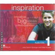 Inspiration 1 Audio CDs ( editura: Macmillan, autori: Judy Garton - Sprenger, Philip Prowse ISBN 978-1-4050-2939-1 )