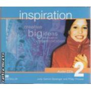 Inspiration 2 Audio CDs ( editura: Macmillan, autori: Judy Garton - Sprenger, Philip Prowse ISBN 978-1-4050-2944-5 )