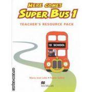 Here Comes Super Bus 1: Teachers Resource Pack ( editura: Macmillan, autori: Maria Jose Lobo, Pepita Subira ISBN 978-0-333-98183-7 )