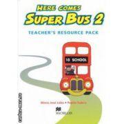 Here comes Super Bus 2: Teachers Resource Pack ( editura: Macmillan, autori: Maria Jose Lobo, Pepita Subira ISBN 978-0-333-93184-4 )