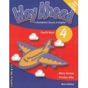 Way Ahead Pupil ' s Book 4 with CD - ROM ( editura: Macmillan, autor: Mary Bowen, Printha Ellis ISBN 978-0-230-40976-7 )