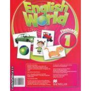 English World 1 Flashcards ( editura: Macmillan, ISBN 978-0-230-02456-4 )