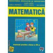 Matematica manual pentru clasa a III - a ( editura : Petrion , autori : Valeria Cristici si colaboratorii , ISBN 973-9470-86-6 )