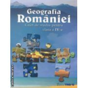 Geografia Romaniei - caiet de studiu pentru clasa a IV - a ( editura: Trend, autori: Livia Marin, Georgeta Kalamar ISBN 9786068370095 )