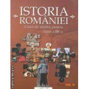 Istoria Romaniei - caiet de studiu pentru clasa a IV - a ( editura: Trend, autori: Georgeta Kalamar, Livia Marin ISBN 978-606-8370-08-8 )