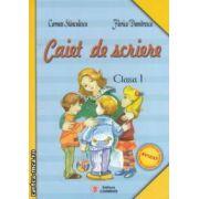 Caiet de scriere clasa a I - a ( Dupa manualul de Ana ) ( Editura: Carminis, autori: Carmen Stanculescu, Florica Dumitrescu ISBN 973-8418-98-4 )