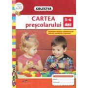 Cartea prescolarului: 3 - 4 ani ( editura: CD Press, autor: Roxana Haiden ISBN 978-606-528-143-1 )