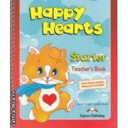 HAPPY HEARTS Starter TEACHERS BAG - cursuri engleza prescolari - geanta profesorului ( editura : Express Publishing , autori : Virginia Evans , Jenny Dooley ISBN 978-1-84862-738-3 )