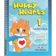 HAPPY HEARTS 1 TEACHERS BAG - cursuri engleza prescolari - geanta profesorului ( editura : Express Publishing , autori : Virginia Evans , Jenny Dooley ISBN 978-1-84862-782-6 )