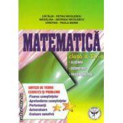 Matematica clasa a IX - a: algebra, geometrie, trigonometrie ; sinteze de teorie, exercitii si probleme ( editura: ICAR, autor: Catalin Petru Nicolescu ISBN 978-973-606-126-4 )