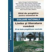 Limba si literatura romana: ghid de pregatire pentru examenul de: Evaluare Nationala 2013 ( editura: Sigma, coordonator: Sorin Teodorescu, ISBN 978-973-649-789-6 )