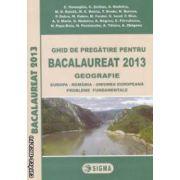 Geografie : ghid de pregatire pentru bacalaureat 2013 ( editura : Sigma , autori : C . Homegiu , C . Serban ISBN 978-973-649-799-5 )