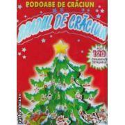 Bradul de Craciun - podoabe de craciun : peste 120 ornamente detasabile ( editura : Aramis ,  ISBN 978-973-679-830-6 )