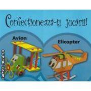 Confectioneaza-ti jucarii : avion si elicopter - fara pipici , foarfeca , mizerie ( editura : Aramis , trad . : Oana Machidonschi ISBN 978-973-679-901-3 )