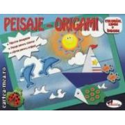Peisaje - Origami : coloram , lipim si indoim ( editura : Aramis , trad . : Teodora Tomes ISBN 978-973-679-824-5 )