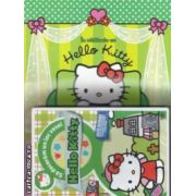 In calatorie cu Hello Kitty , contine carte si DVD ( editura : Egmont , ISBN 9786065198098 )