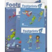 Footprints 2 Pupil' s Book Pack with: Stories and Song CD, CD - Rom, Portofolio Booklet ( editura: Macmillan, autor: Carol Read ISBN 978-0-230-01209-7 )