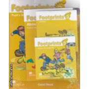 Footprints 3 Pupil' s Book Pack with: Stories and Song CD, CD - Rom, Portofolio Booklet ( editura: Macmillan, autor: Carol Read ISBN 9780230012189 )