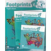 Footprints 6 Pupil' s Book Pack with: Stories and Song CD, CD - Rom, Portofolio Booklet ( editura: Macmillan, autor: Carol Read ISBN 978-02-3001-245-5 )