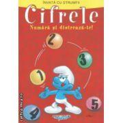 Invata cu strumfii - Cifrele , numara si distreaza - te ! ( editura : Mediadocs , trad . : Sergiu Bica ISBN 978-606-93213-2-4 )