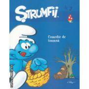 Strumfii - Comedie de toamna Nr . 2 ( editura : Mediabocs , trad . : Bogdan Husanu ISBN 978-606-93123-5-5 )