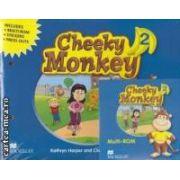 Cheeky Monkey 2 Pupil' s Book Pack ( editura: Macmillan, autori: Kathryn Harper, Claire Medwell ISBN 978-0-2300-1149-6 )
