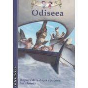 Odiseea: repovestire de Tania Zamorsky dupa epopeea lui Homer ( editura: Curtea Veche, autor: Tania Zamorsky ISBN 978-606-588-396-3 )