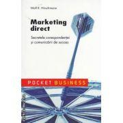 Marketing direct : Secretele corespondentei si comunicarii de succes ( editura : All , autor : Wolf R . Hirschmann ISBN 978-973-684-755-4 )
