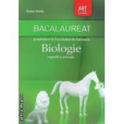 Biologie vegetala si animala : bacalaureat si admitere la Facultatea de Farmacie ; clasele IX - X ( editura : Art , autor : Ioana Arinis ISBN 978-973-124-832-5 )