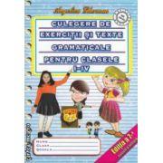 Culegere de exercitii si texte gramaticale pentru clasele I - IV ( editura : Elis , autor : Angelica Gherman ISBN 973-606-028-2 )
