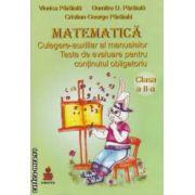 Matematica culegere - auxiliar al manualelor. Teste de evaluare pentru continutul obligatoriu clasa a II - a ( editura: Euristica, autor: Viorica Paraiala, Dumitru D. Paraiala, ISBN 973-86450-1-8 )