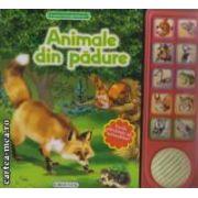 Animale din padure - lumea inconjuratoare - vocile adevarate ale animalelor! ( editura: Girasol, trad.: Luana Schidu ISBN 978-606-525-289-9 )