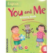 You and Me Activity Book 1( editura: Macmillan, autor: Naomi Simmons, ISBN 978-1-4050-7945-7 )