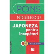Japoneza pentru incepatori cu 2 CD - uri ( editura : Niculescu , trad : Hedwig Bartolf ISBN 978-973-748-125-2 )