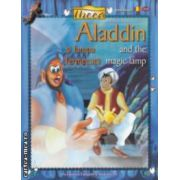 Aladdin si lampa fermecata - and the magic lamp - editie bilingva ( editura : Pro Editura si Tipografie si Akademis Art  ISBN 978-973-145-09-3 )