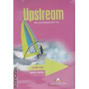Upstream Pre - Intermediate B1 Class CDs ( editura : Express Publishing , autori : Virginia Evans , Jenny Dooley ISBN 978-1-84558-129-9 )