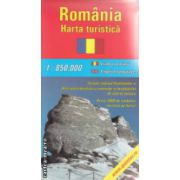 Romania harta turistica 1 : 850.000 ( editura : Amco Press )