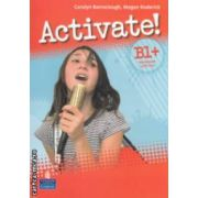 Activate ! B1 +  Workbook with key + CD - ROM (editura : Longman , autori : Carolyn Barraclough , Megan Roderick ISBN 978-1-4479-0257-7