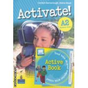 Activate! A2 Students ' Book + DVD (editura: Longman, autor: Carolyn Barraclough, Elaine Boyd ISBN 978-1-4082-3458-7 )