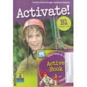 Activate! B1 Students ' Book + DVD (editura: Longman, autori: Carolyn Barraclough, Suzanne Gaynor ISBN 978-1-4082-5387-8 )