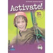 Activate! B1 workbook with key + CD (editura: Longman, autori: Jill Florent, Suzanne Gaynor ISBN 978-1-4058-8414-3 )