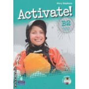 Activate ! B2 Workbook with key and iTests CD ( editura : Longman , autor : Mary Stephens ISBN 978-1-4082-7051-6 )