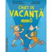 Caiet de vacanta clasa I ( editura : Akademos Art , autori : Marinela Florea , Florina Dumitrascu , Ileana Leafu , Cristina MIncu ISBN 978-606-8336-38-1 )